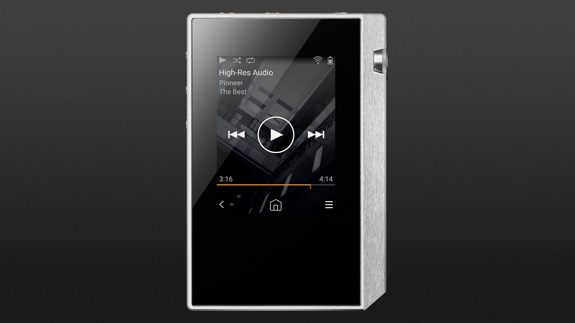 New Pioneer XDP-30R Black Digital Audio Player  Japan Domestic Version